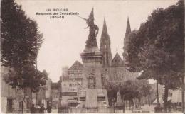 MOULINS 185 MONUMENT DES COMBATTANTS (1870.71) - Monuments Aux Morts