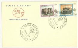 ITALIA REPUBBLICA - FDC CAVALLINO - ANNO 1978 - EUROPA CEPT - F.D.C.
