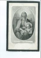 DOMINICUS DE ROO WED VICTORIA HEYNDRICK ECHTG ROSALIA VAN LAERE ° ASSENEDE 1807 + 1867 DRUK GENT VANDER SCHELDEN ST ANNA - Imágenes Religiosas