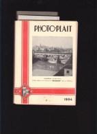 Catalogue Illustré  1934 - Photographie - Photo-plait - énorme Documentation - Nombreuses Marques : Zeis Ikon, - Publicités
