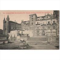 CCRTP4054-LFT4438 .Tarjeta Postal DE CACERES.Monasterio De Guadalupe.Fachada Principal Y Pabellon De La Biblioteca.Cacer - Cáceres