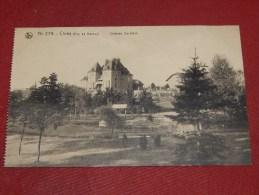 CINEY  -  Château  Sainfoin    -  (2 Scans) - Ciney