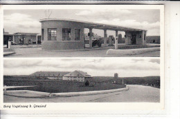 5372 SCHLEIDEN, Burg Vogelsang, U.a. Tankstelle, Station, 1955, Belg. Militärpost - Schleiden