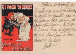 Publicite Pastilles GERAUDEL - Advertising