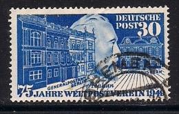 GERMANY BRD,  1949, Cancelled Stamps , U.P.U. 75 Years, MI 116, #13274 - [7] Federal Republic