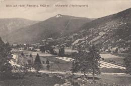 CPA - Münstertal ( Hochvogesen ) - Blick Auf Hotel Altenberg 1100m - Allemagne