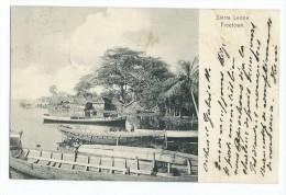 Sierre Leone - Freetown Pirogues + Timbre - Sierra Leone