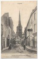 85 - LUÇON - La Rue De La Roche-sur-Yon - Robin 1741 - Lucon