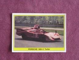 PANINI Super Auto Original Sticker N° 44 Porsche 908 Turbo Vignette Chromo Trading Card Vignette Cards Automobile - Panini
