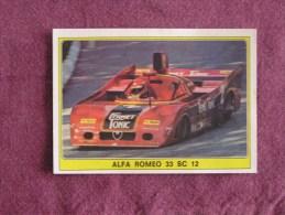 PANINI Super Auto Original Sticker N° 47 Alpha Romeo 33 Sc  Turbo Vignette Chromo Trading Card Vignette Cards Automobile - Panini