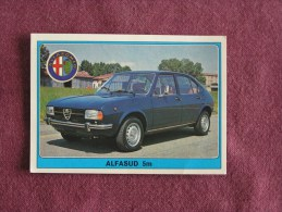 PANINI Super Auto Original Sticker N° 52 Alpha Romeo Alpha Sud 5M Vignette Chromo Trading Card Vignette Cards Automobile - Panini