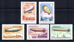USSR - 1991 - Airships - MNH - 1923-1991 USSR