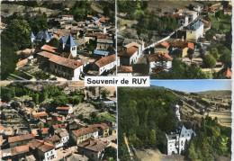 CPSM 38 SOUVENIR DE RUY   Grand Format 15 X 10,5 - Autres Communes
