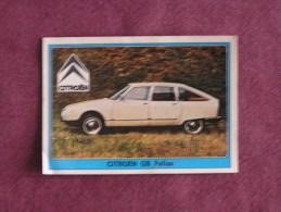PANINI Super Auto Original Sticker N° 88 Citroën GS Pallas Vignette Chromo Trading Card Vignette Cards Automobile - Panini