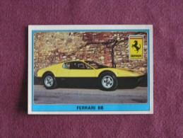 PANINI Super Auto Original Sticker N° 110 Ferrari BB Vignette Chromo Trading Card Vignette Cards Automobile - Panini