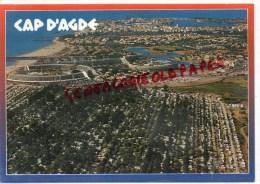 34 -   LE CAP DS' AGDE - LE CENTRE HELIO MARIN ET LA STATION - Agde