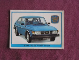 PANINI Super Auto Original Sticker N° 173 Saab 99 GL Combi Coupé Vignette Chromo Trading Card Vignette Cards Automobile - Panini