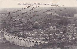 Cp , 18 , SAINT-SATUR , Vue Générale Prise De Sancerre - Saint-Satur