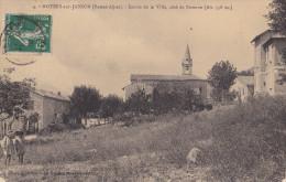 04-NOYERS-sur-JABRON  -Entrée De La Ville Côté De Sisteron - France