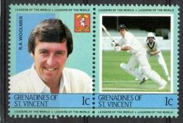 Grenadines St. Vincent 1984 - Robert Woolmer Cricket MNH ** - St.Vincent E Grenadine