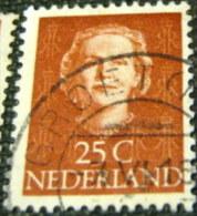 Netherlands 1949 Queen Juliana 25c - Used - Periodo 1949 - 1980 (Giuliana)