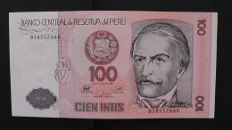 Peru - P 133 - 100 Intis - 1987 - Unc - Peru