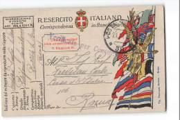 12625 POSTA MILITARE 38 POLIGONO LANCIABOMBE PIAZZOLA SUL BRENTA X ROMA   - CENSURA - 1900-44 Vittorio Emanuele III