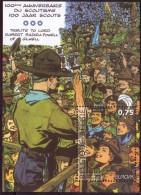 BE 2007 - N° 3634 XX Ou Bloc N° 142 XX - Europa 2007 - Centenaire Du Scoutisme - Effigie De Baden Powel Par Jijé - Non Classificati