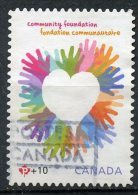 Canada 2012 P + 10c Community Foundation Issue #B19 - Used Stamps