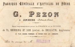 Fabrique D Articles De Peche PEZON Amboise - Pêche