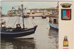 Seine  Maritime :  DIEPPE  : Vue  (  Bateau) - Dieppe