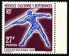 NOUV.-CALEDONIE 1963 - Yv. 311 ** Bdf  Cote= 5,80 EUR - Sport : Lancer Du Javelot ..Réf.NCE22851 - Neukaledonien
