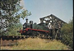 Ligne Departementale Cernay -a Sentheim -- Sortie Du Pont Militaire De Burnhaupt , Locomotive Meuse N° 51 - Eisenbahnen