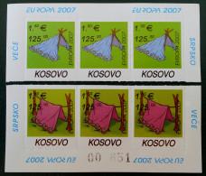 EUROPA 2007 - HAUT ET BAS DE FEUILLES NEUFS ** - PH 0087 -  - EMISSION KOSOVAR - Kosovo