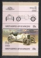 Grenadines St. Vincent 1986 - Mercedes-Benz 4.5 Auto Car MNH ** - St.Vincent E Grenadine