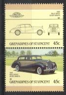"""Grenadines St. Vincent 1986 - Rolls Royce """"Silver Wraith"""" Auto Car MNH ** - St.Vincent E Grenadine"""