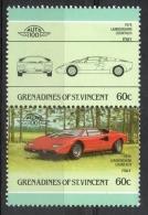 "Grenadines St. Vincent 1986 - Lamborghini ""Countach"" Auto Car MNH ** - St.Vincent E Grenadine"