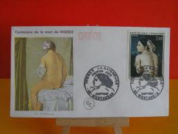 FDC- Ingres La Baigneuse - 82 Montauban - 2.9.1967 - 1er Jour, Cote 7 € - FDC