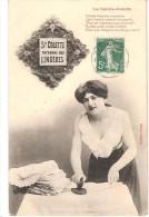 SAINTE COLETTE PATRONNE DES LINGERES AU REPASSAGE - Femmes