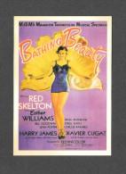 AFFICHE CINÉMA - POSTER - CINEMA - FILM - BATHING BEAUTY - RED SKELTON - ESTHER WILLIAMS - XAVIER CUGAT - HARRY JAMES - Afiches En Tarjetas