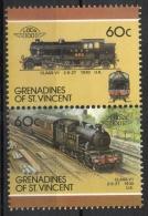 Grenadines St. Vincent 1987 - Locomotive Ferroviarie Railway Locomotives Treni Trains MNH ** - St.Vincent E Grenadine