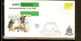 1982 - Nederland Veldpost - Korps Mariniers - Herinnering Rotterdam 10 Mei 1940 09-06-82 [A04_012] - Postal History