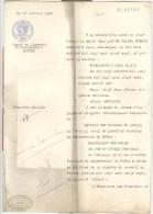Dépôt De Jugement D´homologation - 1927 - Timbre 5,40 - Notaire Valery Eymard - Lyon - Vieux Papiers