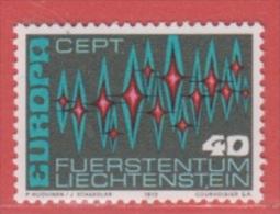 1972 ** (sans Charn., MNH, Postfrish)  Mi  564 Yv  507  ZUM  492 - Unused Stamps