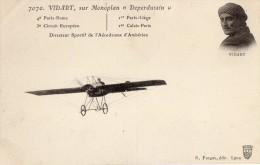 VIDART Sur Monoplan DEPERDUSSIN - Aviateurs
