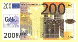 Billet Scolaire CELDA De 200 Euros SPECIMEN ( N° 103 - 2 ) - EURO