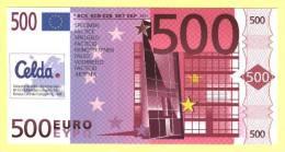 Billet Scolaire CELDA De 500 Euros SPECIMEN ( N° 105 - 2 ) - EURO