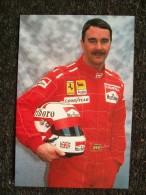 NIGEL MANSELL PILOTA FERRARI F1 - Grand Prix / F1