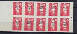 "SPM Carnet YT C590 "" Marianne Bicentenaire Adhésifs 10 TP "" 1993 Neuf** - Carnets"
