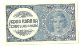 Czechoslovakia 1 Korun 1946 UNC - Cecoslovacchia